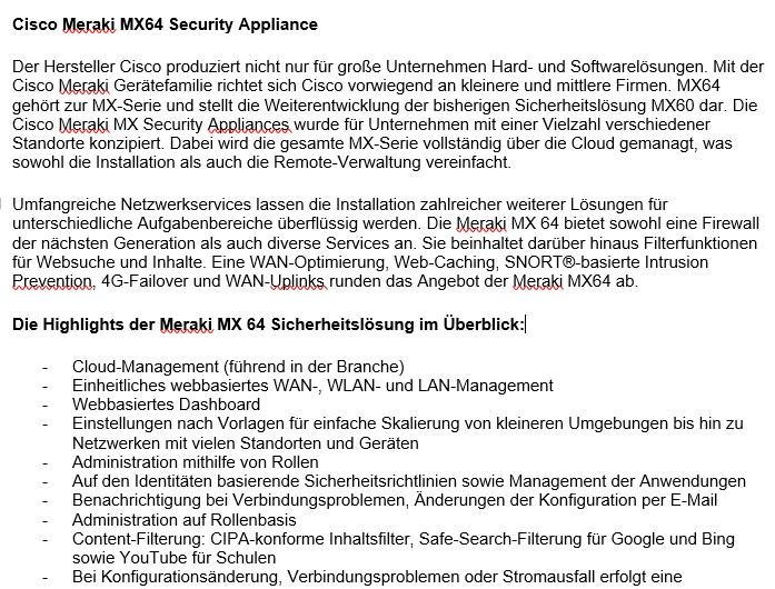Cisco-Meraki-Security